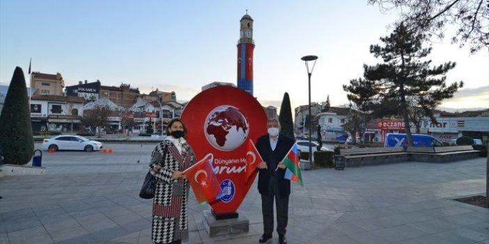 Azerin: Şehit Aybüke hocanın memleketinde olmaktan gururluyum