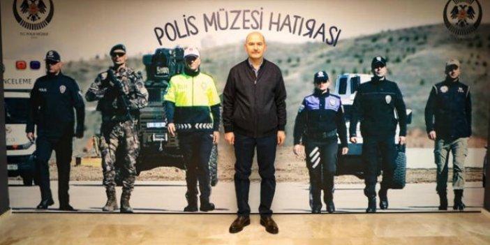 Bakan Soylu'dan polis müzesine ziyaret