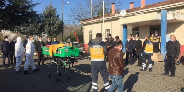 Koronadan ölen ambulans şoförüne son görev