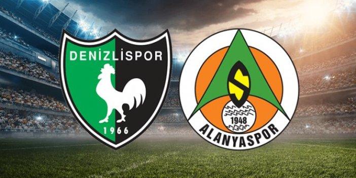Denizlispor, Alanyaspor'u mağlup ederek bu sezon bir ilke imza attı