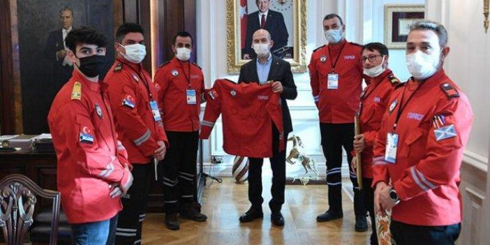 İçişleri Bakanı Süleyman Soylu'ya sürpriz ziyaret