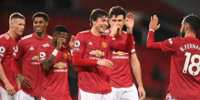 Manchester United'dan gol şov