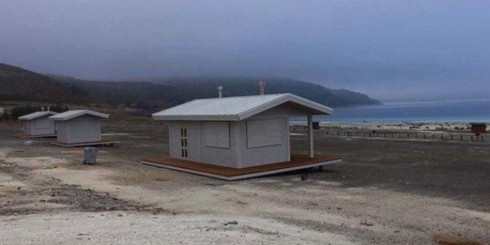 'Çivi bile çakılmayacak' dedikleri doğa harikası Salda Gölü'nün son hali