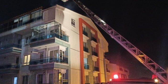 Başkentte 2 yangın panik yarattı