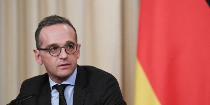 Almanya Dışişleri Bakanı Maas'tan ambargo açıklaması