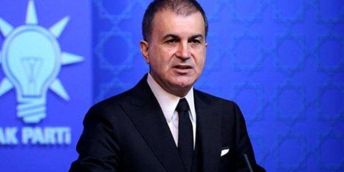 AKP'li Ömer Çelik'ten korona açıklaması