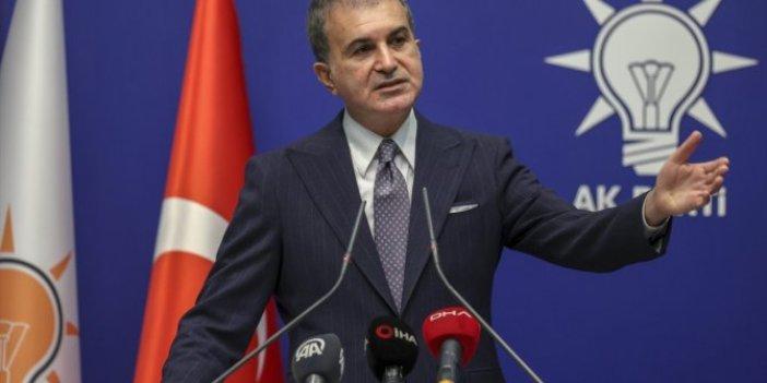 AKP Sözcüsü Ömer Çelik'ten flaş açıklamalar