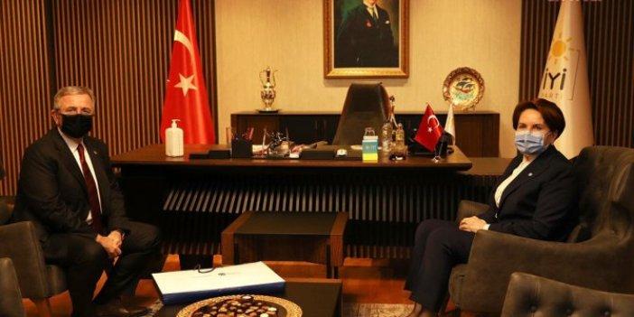 Mansur Yavaş'tan İYİ Parti lideri Meral Akşener'e nezaket ziyareti