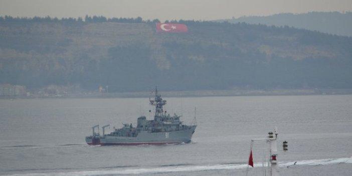 Savaş gemilerinin rotası Marmara