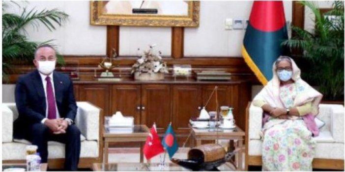 Çavuşoğlu, Bangladeş Başbakanı ile görüştü