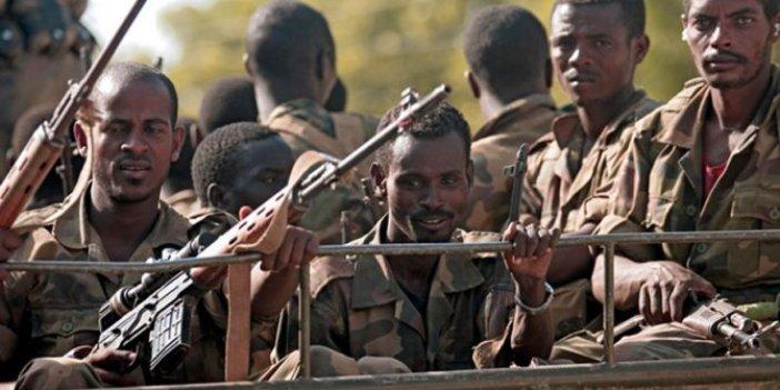 Etiyopya saldırılarına skandal gözaltı