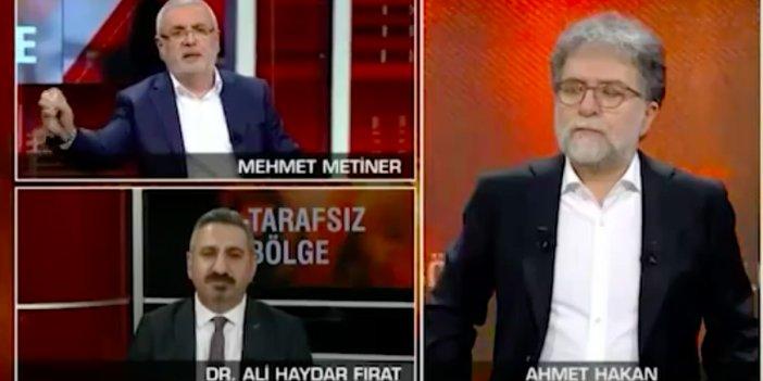 Mehmet Metiner'in sözleri ortalığı karıştırdı! CNN Türk canlı yayınında tuhaf anlar