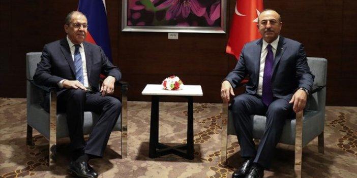 Bakan Çavuşoğlu Rus mevkidaşı Lavrov ile 29 Aralık'ta bir araya gelecek