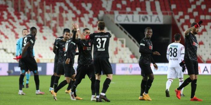 DG Sivasspor bu sezon bir ilki gerçekleştirdi