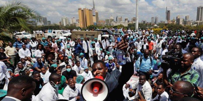 Kenya'da protestolar sona erdi