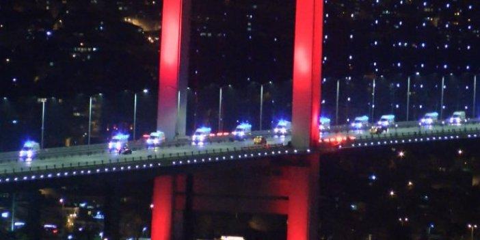 Ambulanslar İstanbul'da. Ankara'dan yola çıktılar