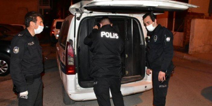 İzmir polisini alarma geçiren olay.  Polisin şehit edilmesinde yakalama kararı olan zanlı kaçtı