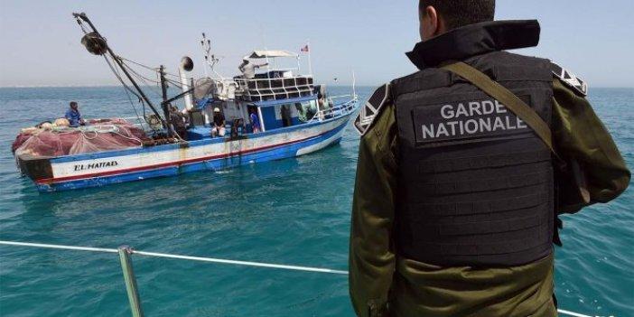 28 balıkçı gözaltına alındı