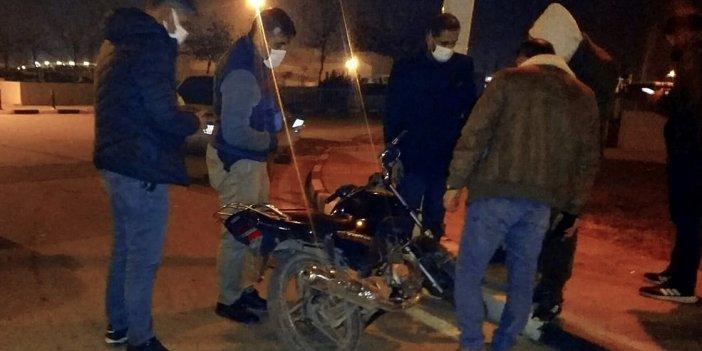 Çaldıkları motosikletin sahibi alışveriş sitesinde karşılarına çıktı