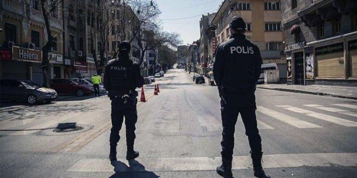 Türkiye genelinde 56 saatlik sokağa çıkma yasağı başladı