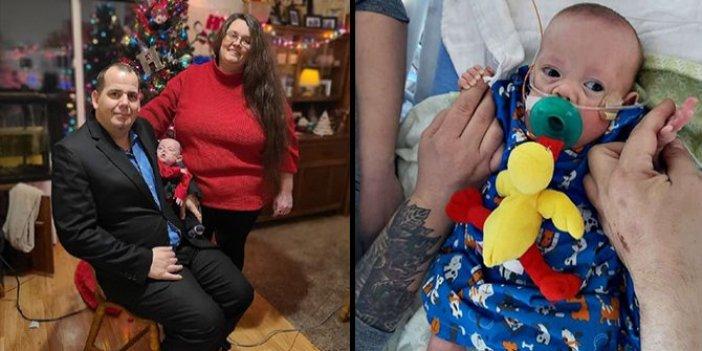 Amerika Birleşik Devletleri'nde 5 aylıkken doğan bebek taburcu oldu