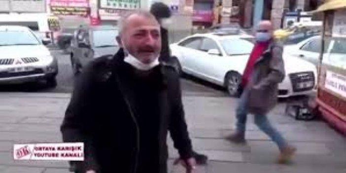 Bir taraf lüks şatafat içinde yaşarken bir taraf açlıktan ağlıyor. Simit yiyen adamın gözyaşları.