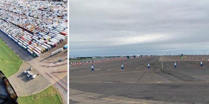 İngiltere'de sınırda bekleyen 38 şoförde korona çıktı