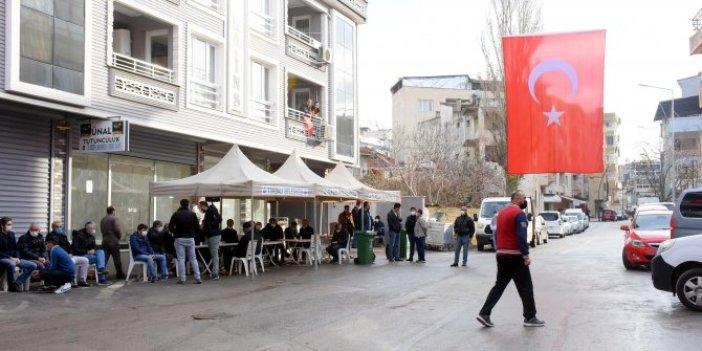 Şehit ateşi İzmir'e düştü