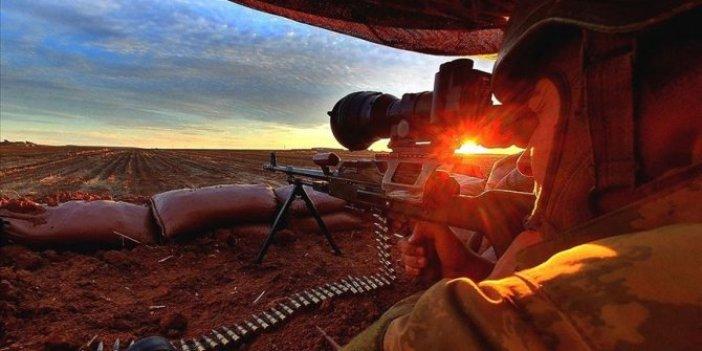 MSB duyurdu. Barış Pınarı bölgesinde 15 PKK'lı terörist öldürüldü