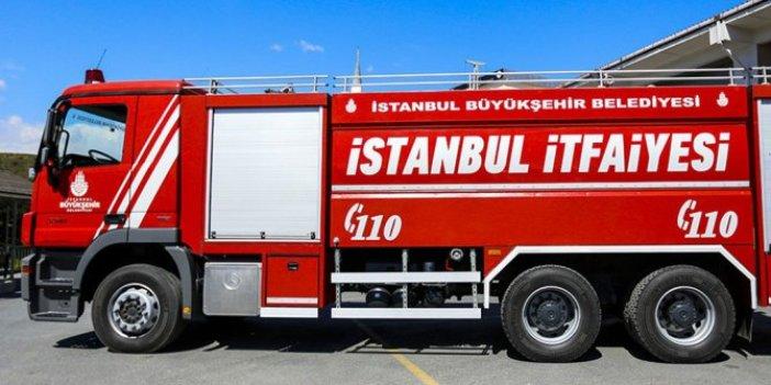 İstanbul Kadıköy'de yangın