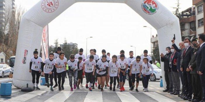85'inciBüyük Atatürk Koşusu sembolik olarak yapıldı
