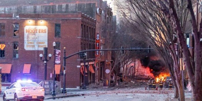 Nashville kentindeki patlamanın şüphelisinin intihar bombacısı çıktı
