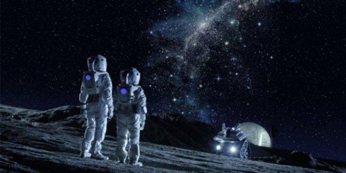 Uzayın derinliklerinde inşaat başlıyor. NASA açıkladı yer yerinden oynadı