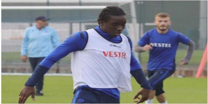 Trabzonspor'da Diabate kenti terk etti