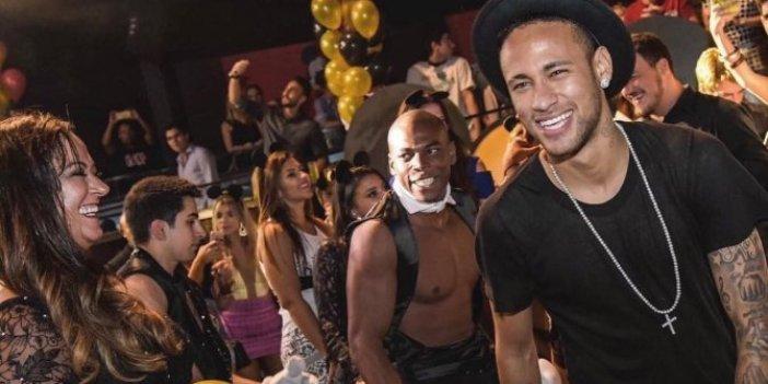 PSG'nin Brezilyalı yıldızı Neymar'dan 5 gün süren skandal parti