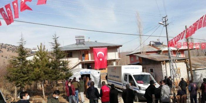 Şehit Ali Özdemir'in acı haberi ailesine ulaştı
