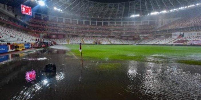Antalyaspor - Hatayspor maçı ertelendi