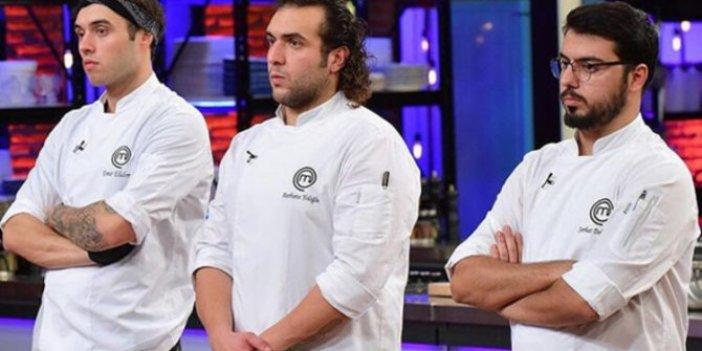 MasterChef Türkiye'de ilk finalist belli oldu. 28 Aralık MasterChef finale kalan yarışmacı Barbaros mu, Serhat mı, Emir mi. Eleme potasında hangi iddialı isimler yarışacak