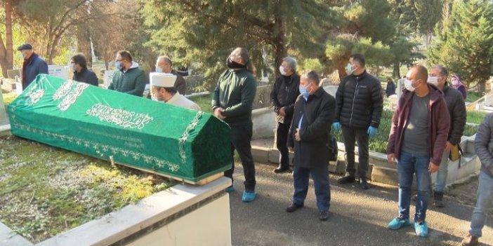 Klarnetin babası Mustafa Kandıralı son yolculuğuna uğurlandı