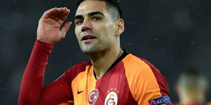 Falcao'dan Galatasaray'a 9 milyon euroluk büyük şok