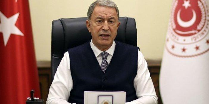 Milli Savunma Bakanı Hulusi Akar açıkladı. 2020 yılında 3 bin 646 terörist etkisiz hale getirildi