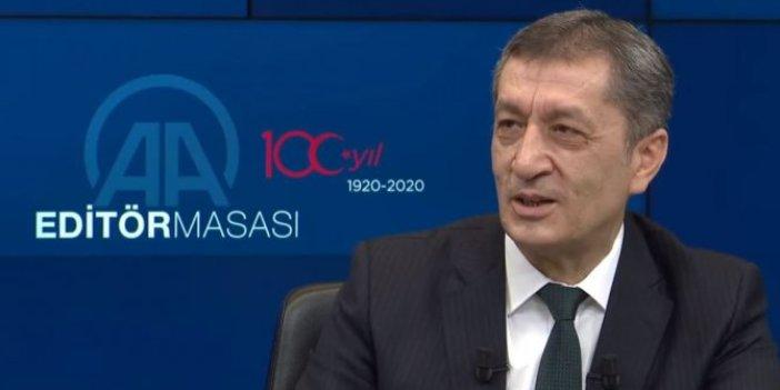 Milli Eğitim Bakanı Ziya Selçuk'tan son dakika yüz yüze eğitim açıklaması