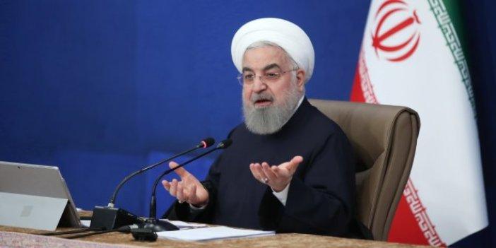 Ruhani'den Trump'a vahşi katil benzetmesi. Trump'a Kasım Süleymani tehdidi