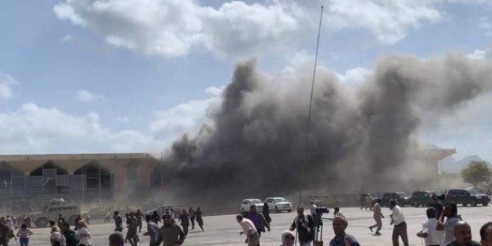 Yemen Havalimanı'nda patlama