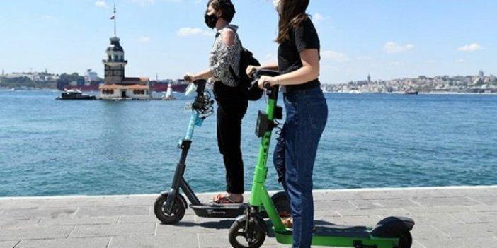 Elektrikli scooter'a iki kişi binen ceza ödeyecek. Resmi Gazete'de yayımlandı