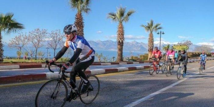 Antalya Bisiklet Turu iptal edildi