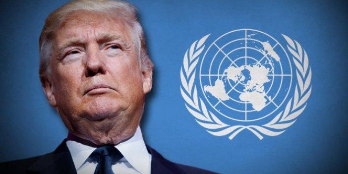 BM'den flaş Trump açıklaması. Uluslararası yükümlülüklerin ihlali
