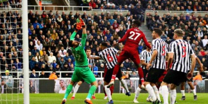 Liverpool Newcastle United karşısında berabere kaldı