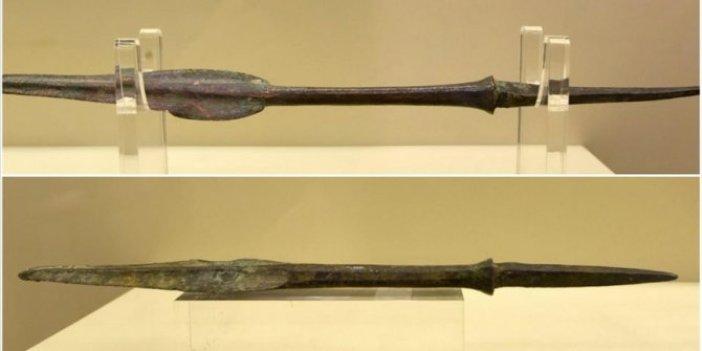 6 bin yıllık mızrak uçları sergileniyor