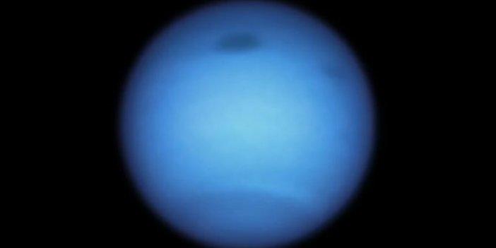 Bilim insanları Neptün'de böylesi ilk kez görüldü diyerek açıkladı